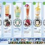 Persona X Pasela Resorts Persona 3 The Movie #4 Cafe Menu Items