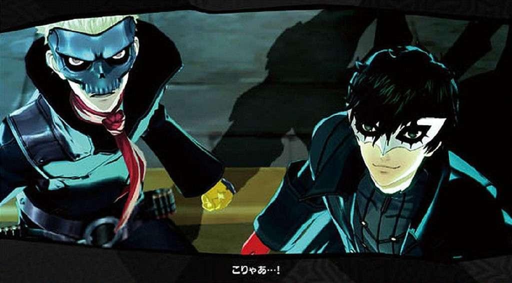 Persona 5 Cutscene