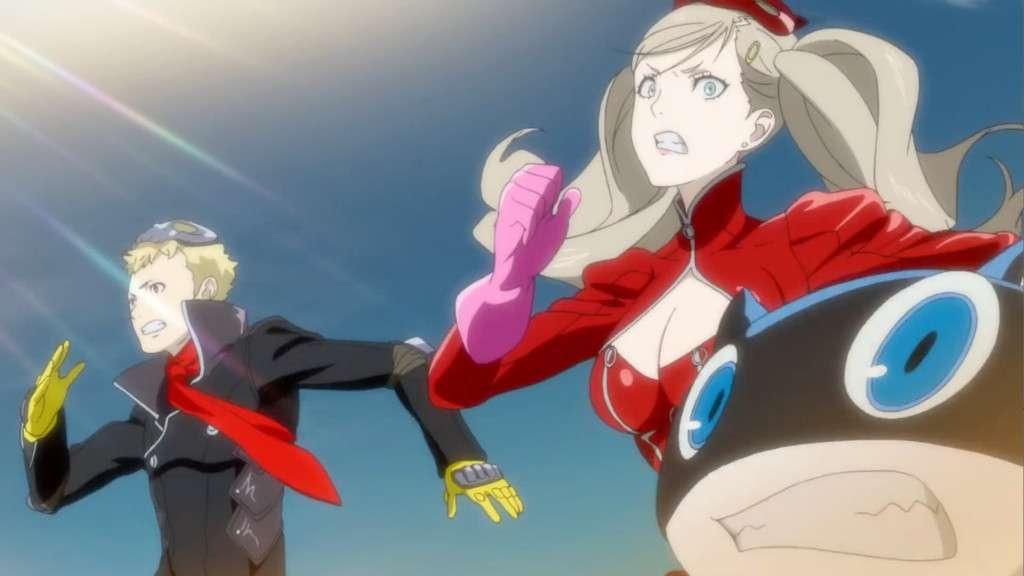 Persona 5 Escape Scene