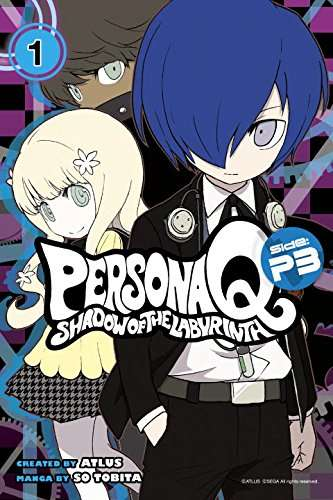Persona Q Side P3 Manga Volume 1 English Cover