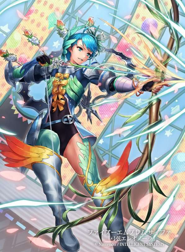 Fire Emblem 0 (Cipher) Series 4 Tokyo Mirage Sessions #FE Card