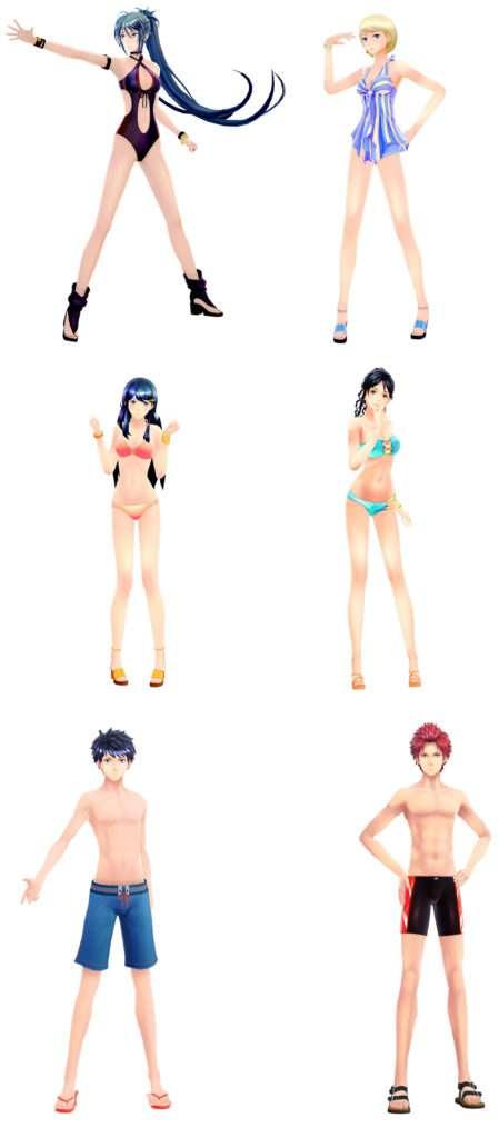#FE Swimsuit DLC Complete