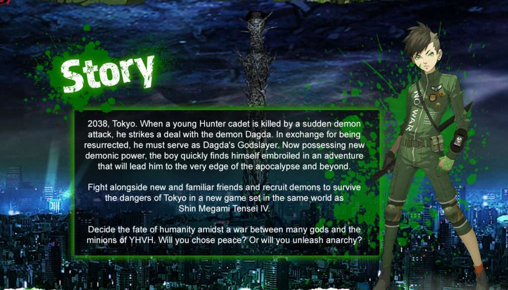 Smt Iv World Map.Shin Megami Tensei Iv Apocalypse Gets First English Screenshots