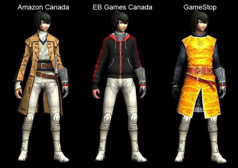 SMT IV DLC Costumes