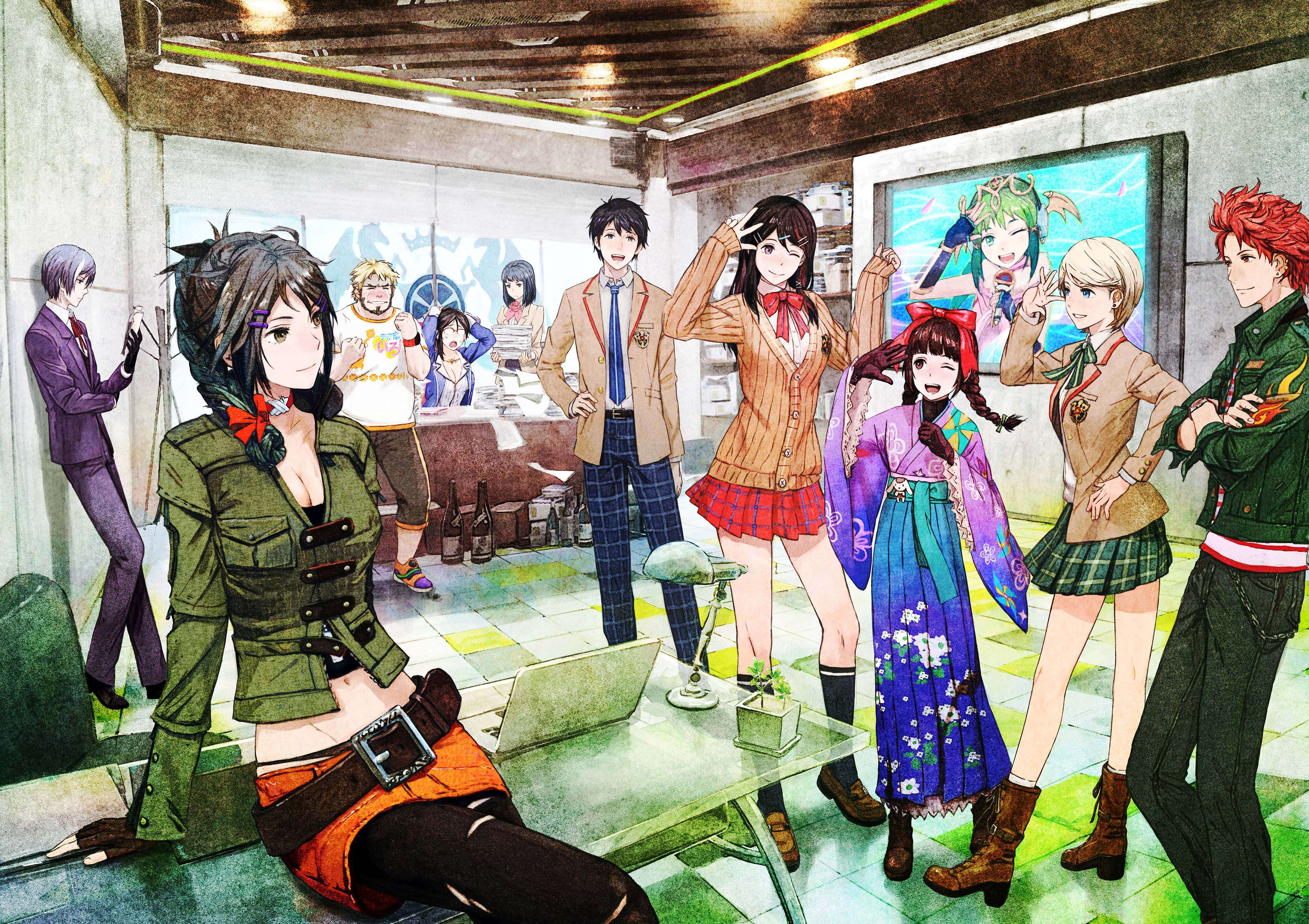 together with Independence Day Resurgence in addition Watashi Ga Motete Dousunda Pv moreover Tokyo Mirage Sessions Fe Art likewise Tms. on mirage trailer 2016