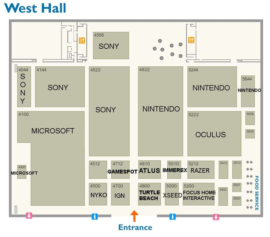 E3 2016 West Hall