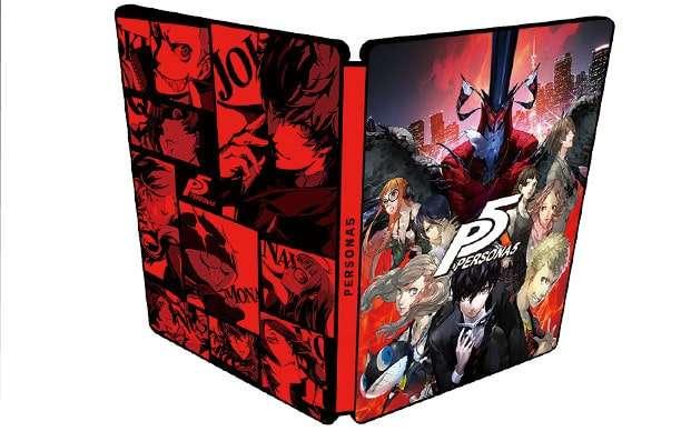 New Geo Bonus Special Steel Book Case Of Persona 5 Japan P5 Video Games & Consoles
