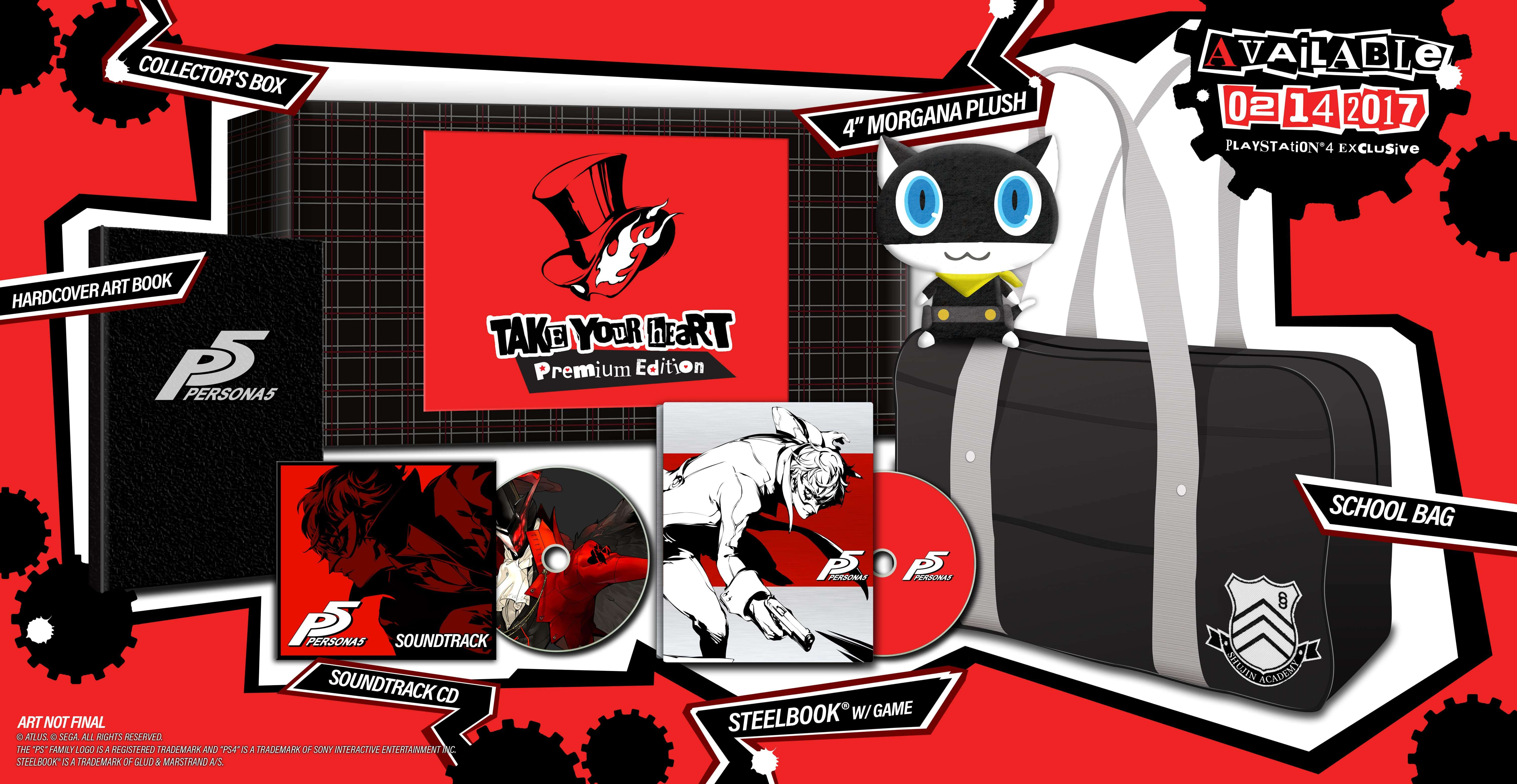 Persona 5 North American Release Date Confirmed for February