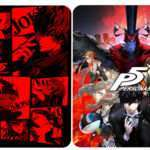 Persona 5 Famitsu DX Pack Poster Set, GEO Pre-order Steel Case Revealed