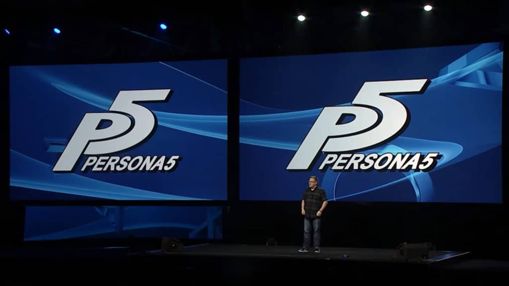 Persona 5 PlayStation Experience