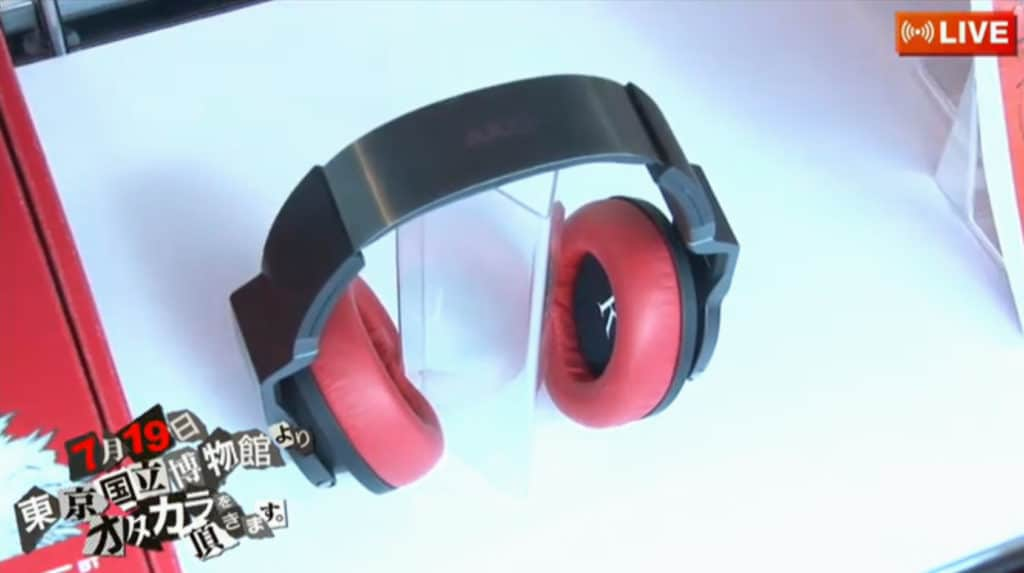 Futaba Sakura Headphones Red
