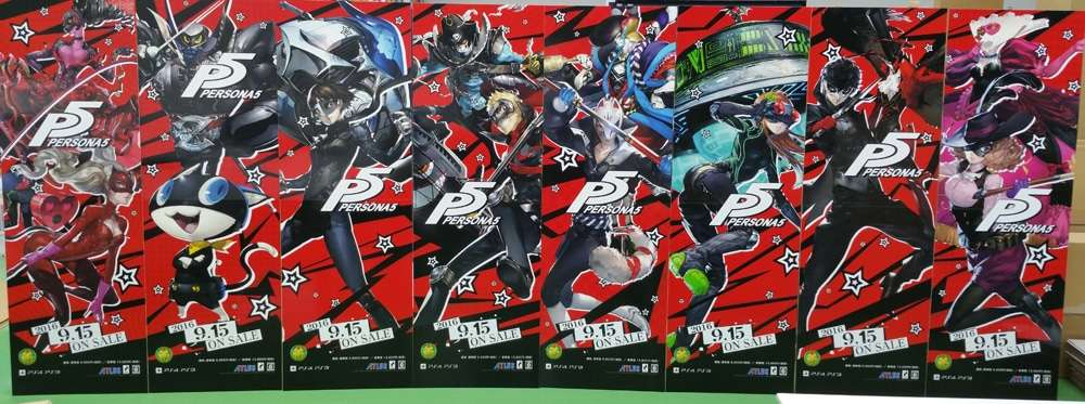 P5 Characters