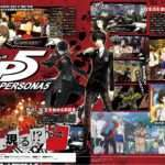 Persona 5 High-res Famitsu Scans Feature New Art and Screenshots, Cooperation Characters