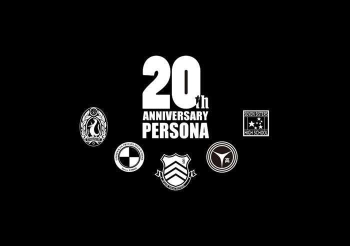 Persona 20th Anniversary Logo