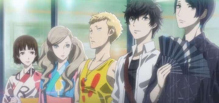 Persona 5 Cast