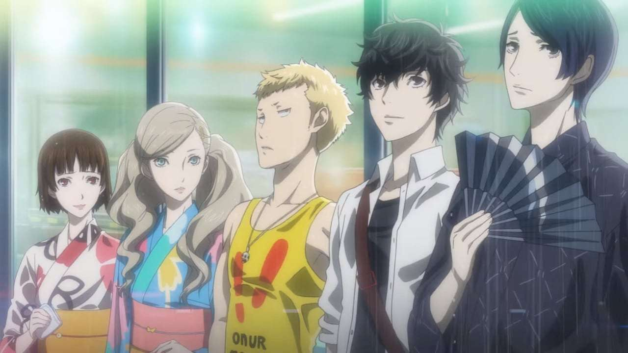 Persona 5 Anime Characters : Persona tv commercial broadcast starts central