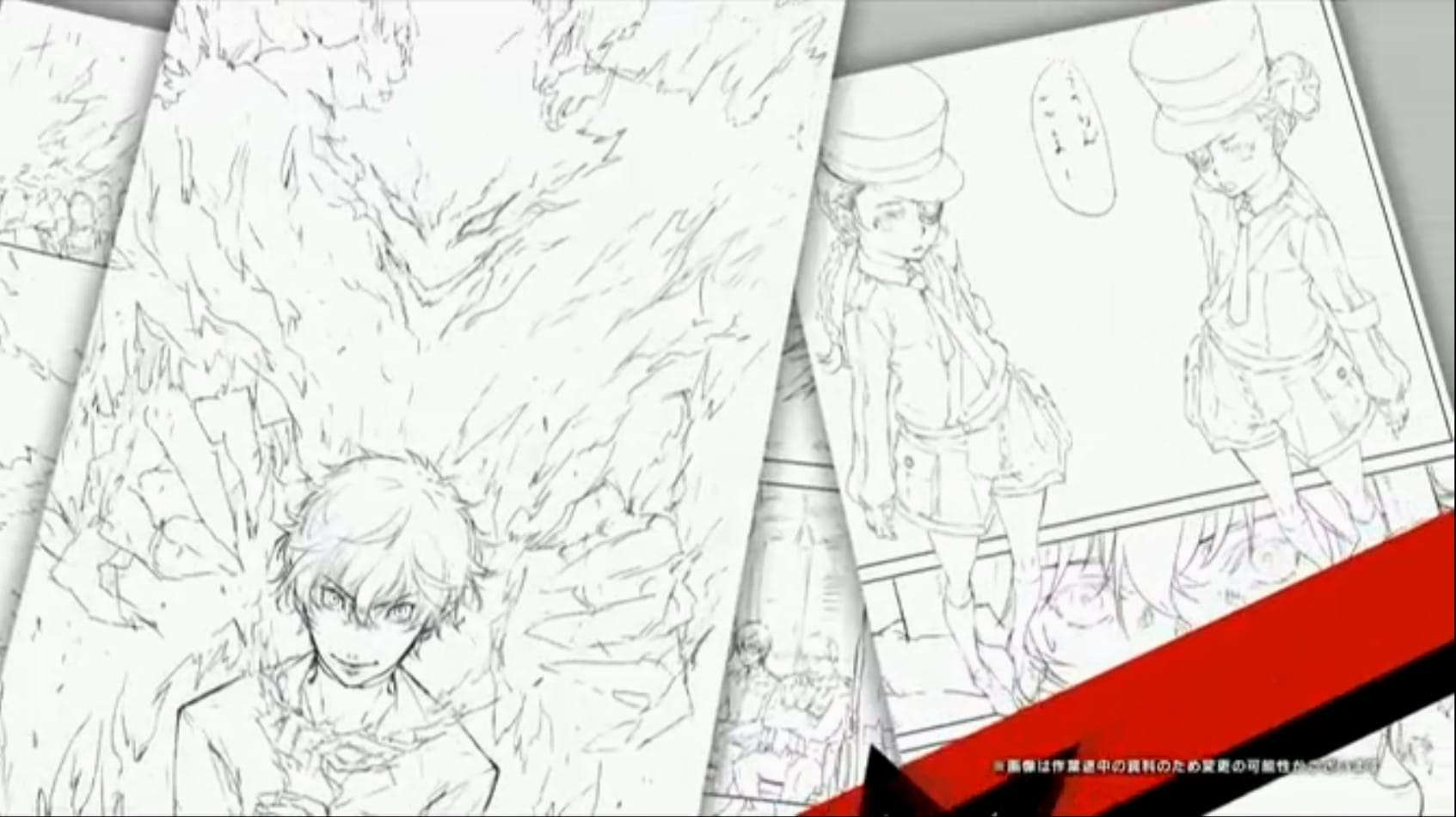 Persona 5 Anime Characters : Persona manga chapter released central