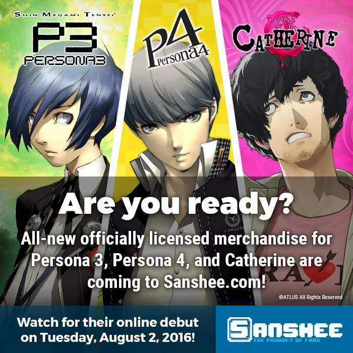 Sanshee Persona Products