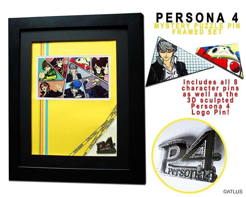 Persona 4 Udon Pin Set