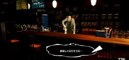 Persona 5 Coffee Shop