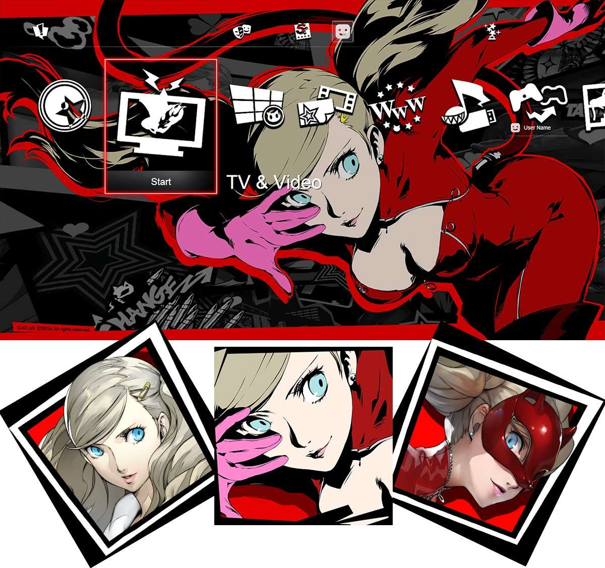 Persona 5 DLC, Character Themes and Avatars, and Patch 1 01