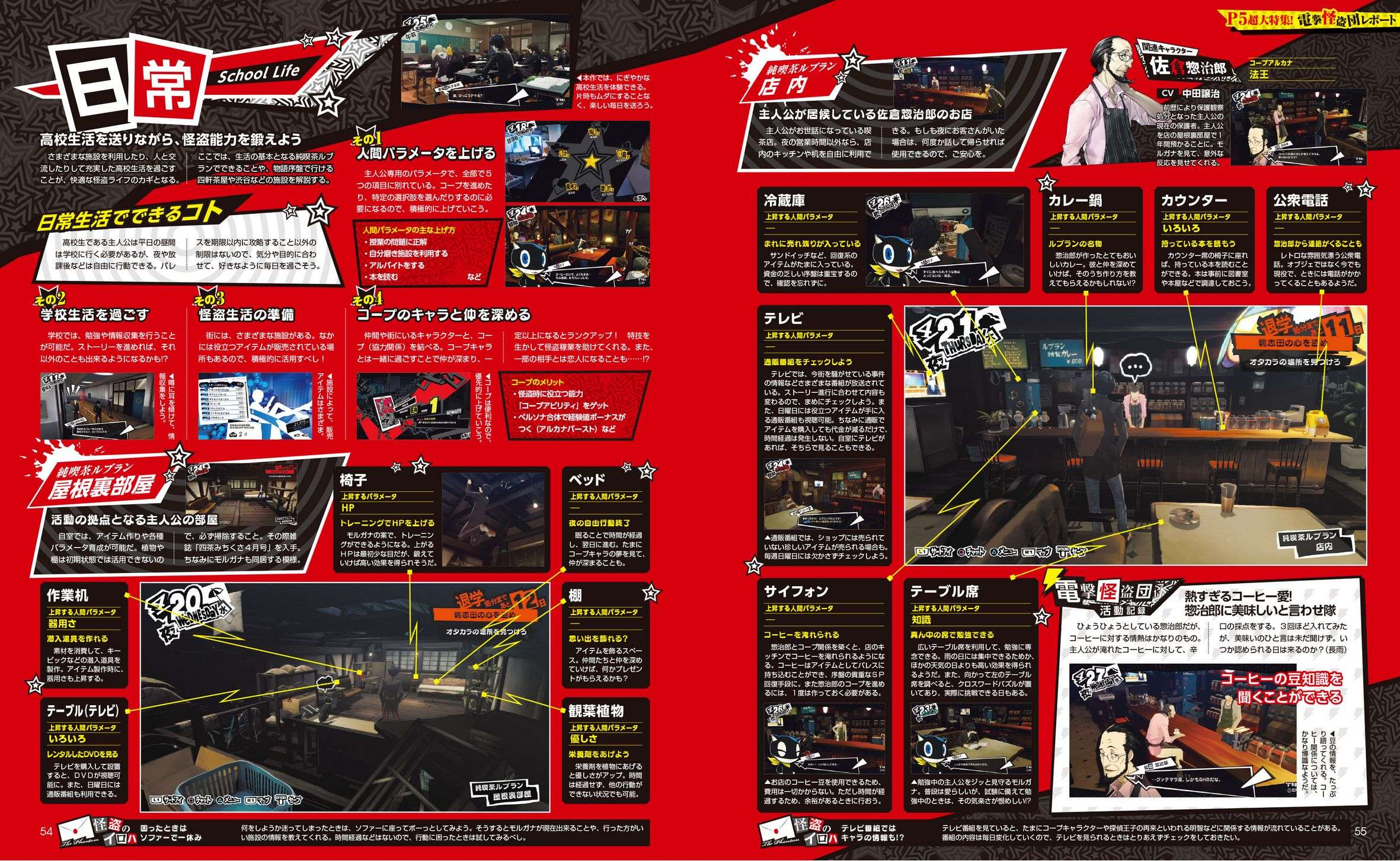 persona 5 dengeki playstation vol  622 launch feature high