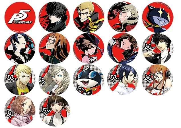 Persona 5 Badges