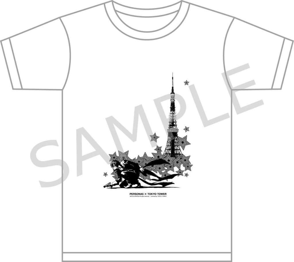 Persona 5 Tokyo Tower Shirt