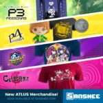 New Sanshee and Atlus Collaboration Merchandise Announced