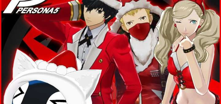Persona 5 Christmas Costumes Announced, 55% DLC Discount ...