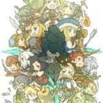 Etrian Odyssey 10th Anniversary Illustration