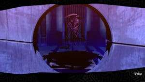 Incubus in Persona 5 being sentenced to execution for fusion.