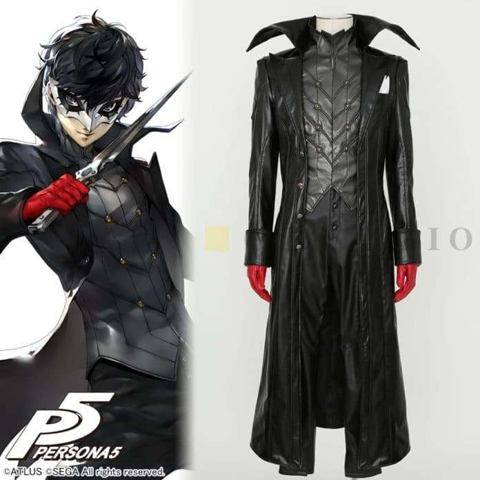 Persona 5 Calendar Dagger.Official Persona 5 Hero Phantom Suit And Mask Cosplay Products