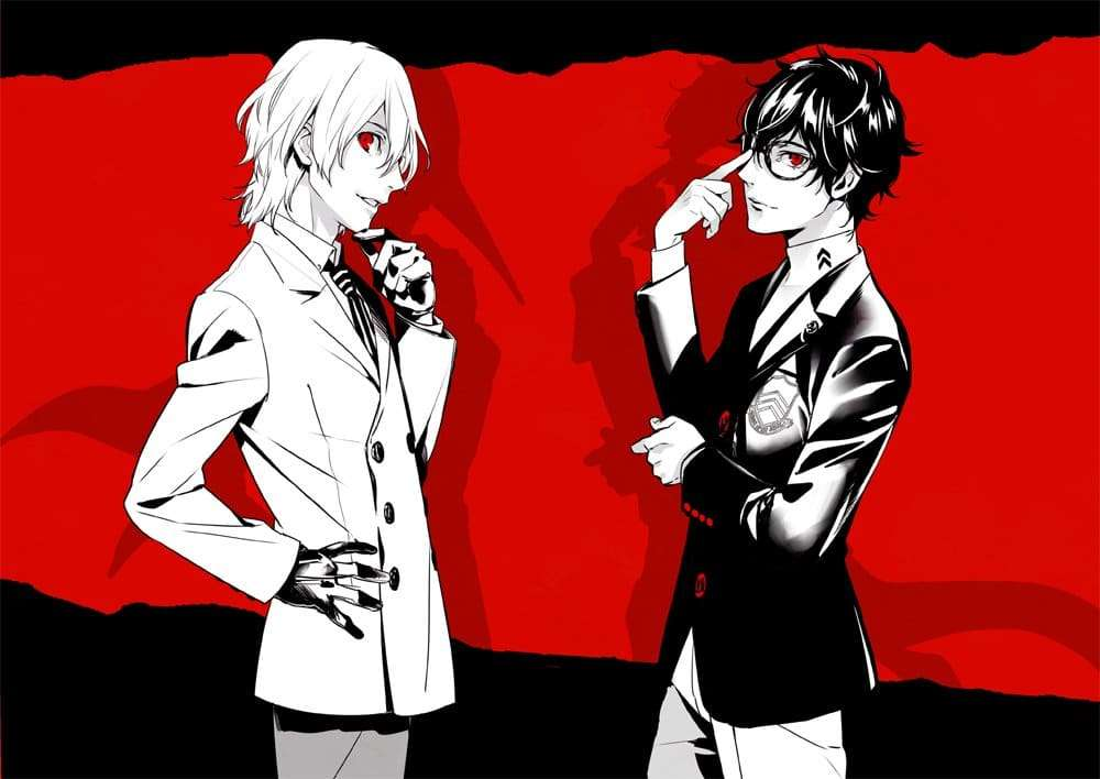 Persona 5 character fan book japan release persona central What is style