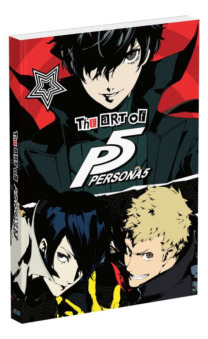 The Art of Persona 5 Cover Art