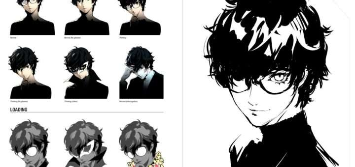 The Art Of Persona 5 Preview Pages New November 3 2017 Release Date