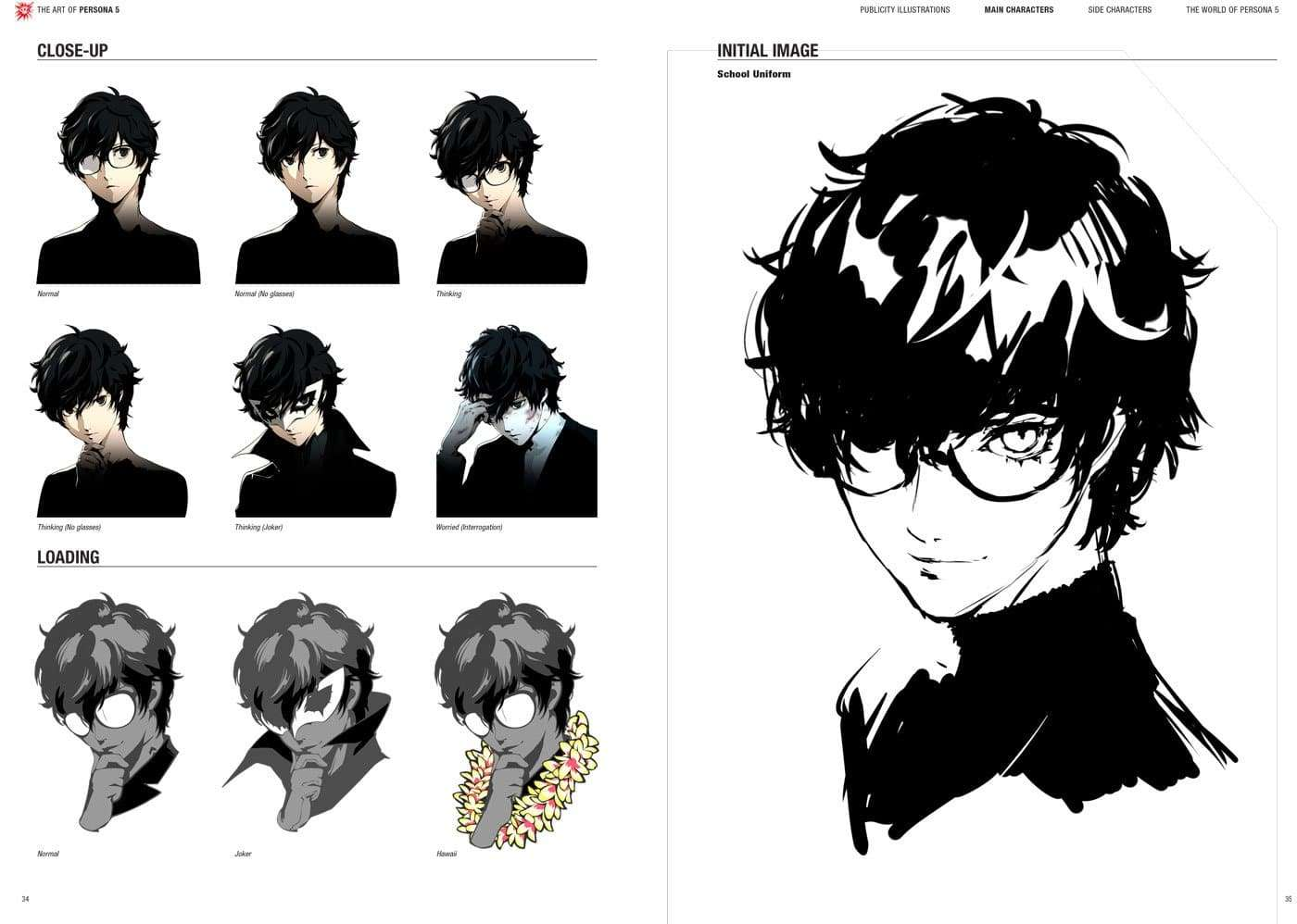 The Art of Persona 5 Preview Pages, New November 3, 2017 ...