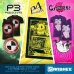 New Catherine and Persona 3/4 Merchandise via Sanshee