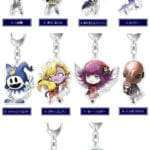 Shin Megami Tensei 25th Anniversary Acrylic Key Chain Collection