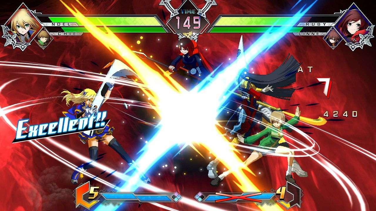 Blazblue Cross Tag Battle Main Visual Mode Details