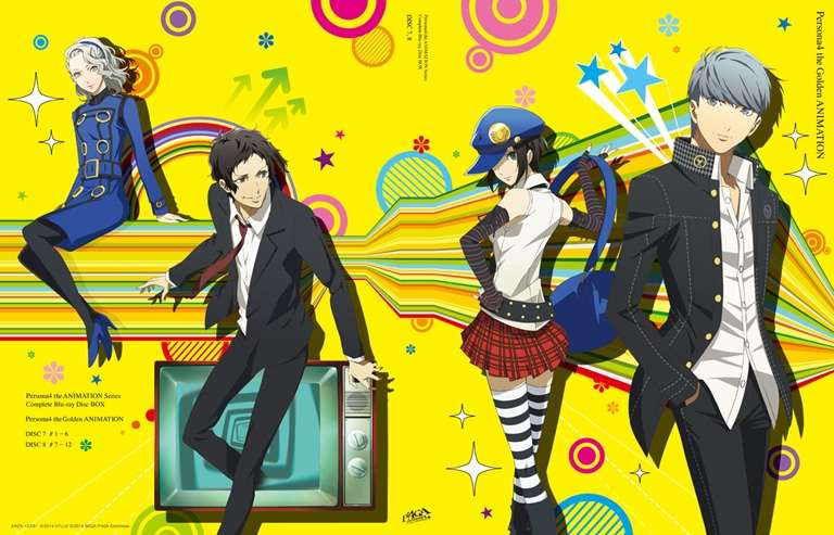 Persona 4 The Golden Animation: Thank you Mr. Accomplice - Persona 4 The Golden Animation: Another End