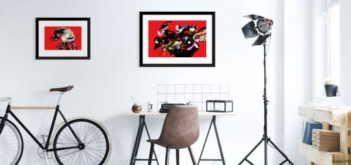 Persona 20 Fine Art Print Collection Cook And Becker Wall Art