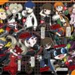 Persona Q2: New Cinema Labyrinth Announcement Feature Scans
