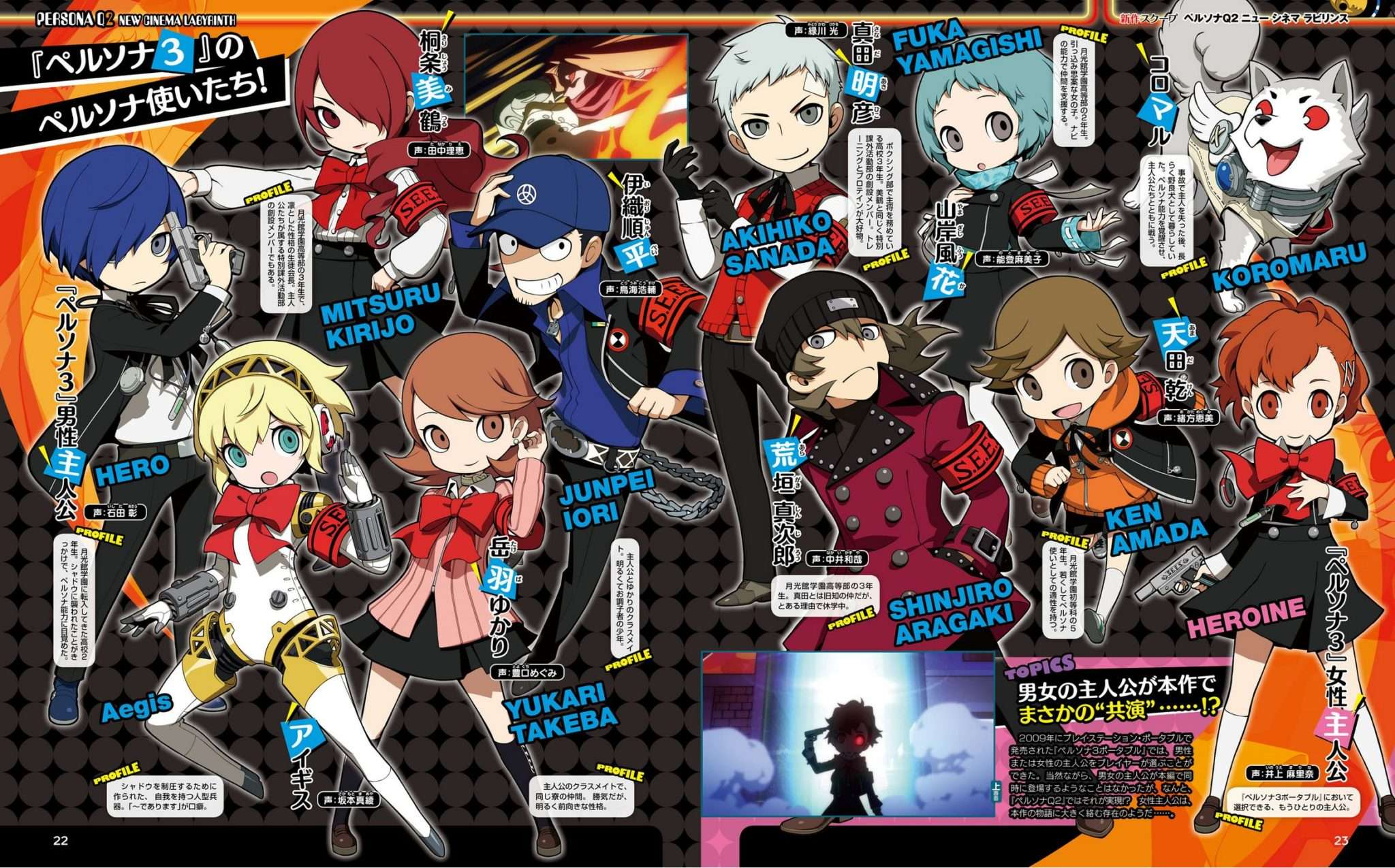 Persona Q2 New cinema Labyrinth Walkthrough Uk