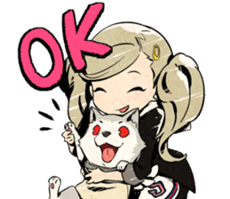 Following The Announcement That LINE Stickers Would Be Released For Persona Q2 New Cinema Labyrinth Theyve Been Day Before Games