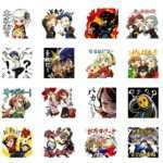 Persona Q2: New Cinema Labyrinth Stickers Released on LINE