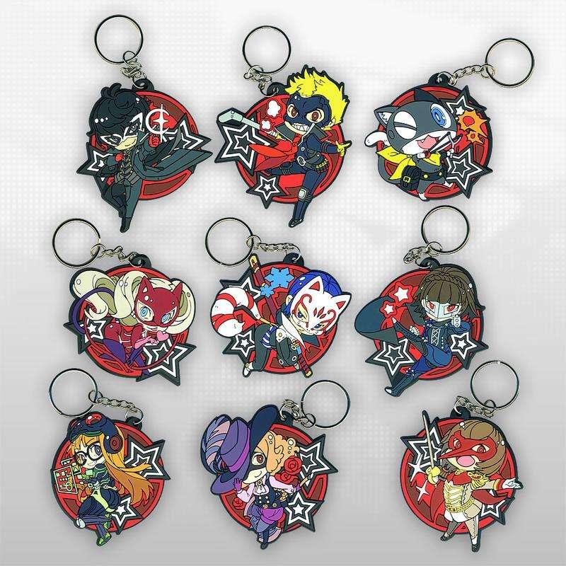 Persona 5 Keychains