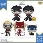 Persona 5 Funko Pops Officially Revealed for London Toy Fair 2019