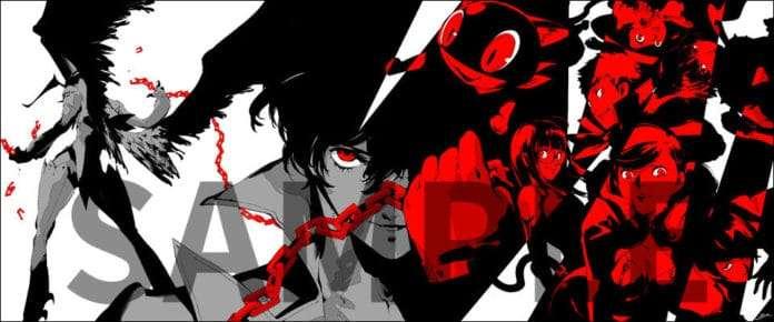 Persona 5 the Animation Soejima Box Set Illustration