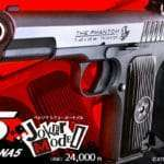 KSC Produced Persona 5 Collaboration Airsoft Gun 'Joker Model' Revealed, April 26, 2019 Release